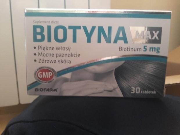 Moja nieudana kuracja Biotyna max - opinie po miesiącu