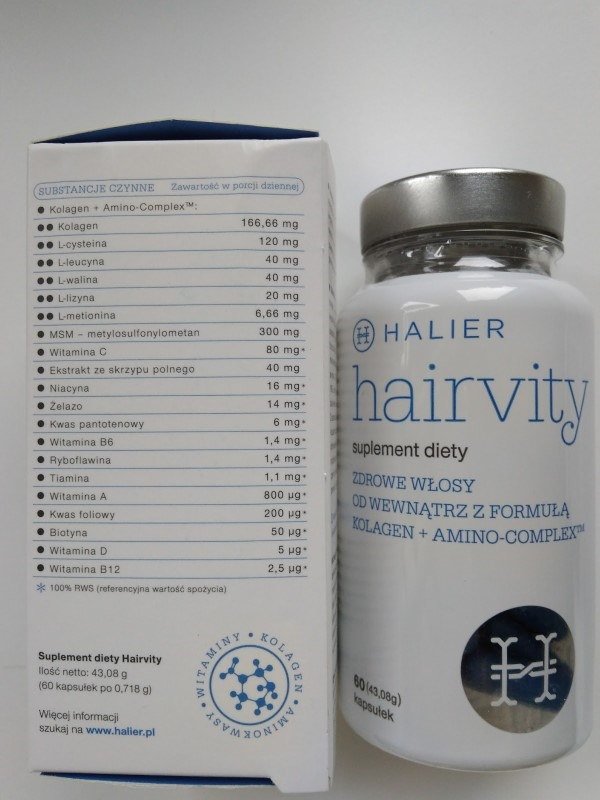 Hairvity opinie